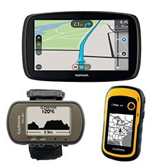 GPS og tilbehør